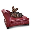Storage Pet Bed - Red Basketweave