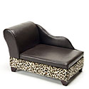 Storage Pet Bed - Leopard
