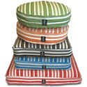 Hemp Stripe Rectangle Dog Bed