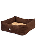 Faux Suede Dog Beds  | 10% Off | Sale Faux Suede Dog Beds & Faux Leather Dog Beds